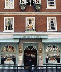 Botzakis products at the shelves of Fortnum & Mason™ in London, UK