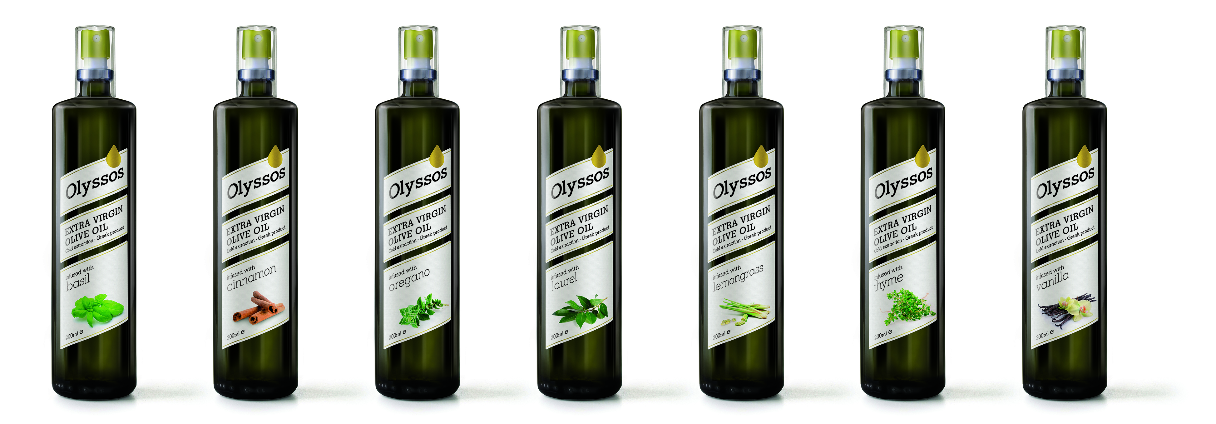 New line of Aromatic Extra Virgin Olive Oils with spices and herbs