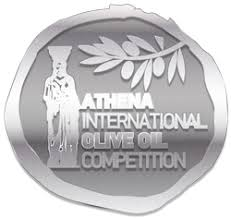 Silver medal at the Athena International Olive Oil Competition 2018