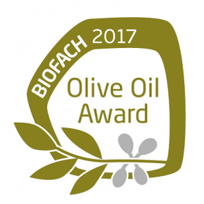 BIOFACH OLIVE OIL AWARD for OLYSSOS, our Organic Extra Virgin Olive Oil