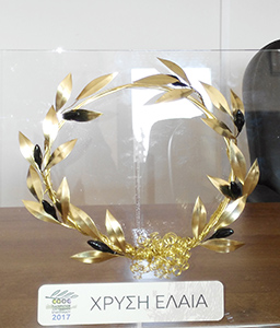 OLYSSOS PDO PEZA Extra Virgin Olive Oil has been awarded with the GOLD ELEA prize in the Cretan Olive oil Competition 2017